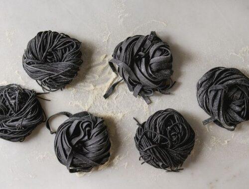 pasta carbone vegetale